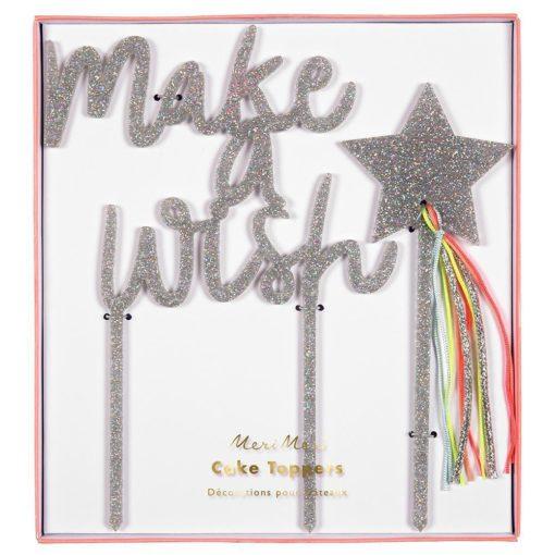 Make A Wish Cake Topper